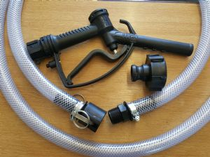 IBC Delivery Kit with Nylon Reinforced Hose & Quick Release Camlock Connection